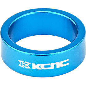 "KCNC Headset Spacer 1 1/8"" 12mm blue"